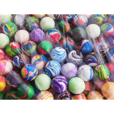 ~ 12 ~ Hi Bounce Balls ~ 27mm 1 Inch ~ New: Health & Personal Care