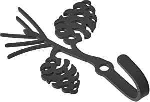3.25 Inch Pinecone Wall Hook Extra Small