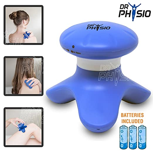 Dr Trust (Usa) Handheld Mini Massager Machine For Head And Body Massage
