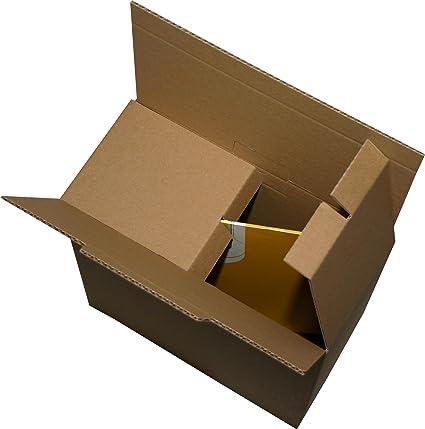 10 pieza LP Vinilos Cajas de Cartón Cartón como Post DHL ...