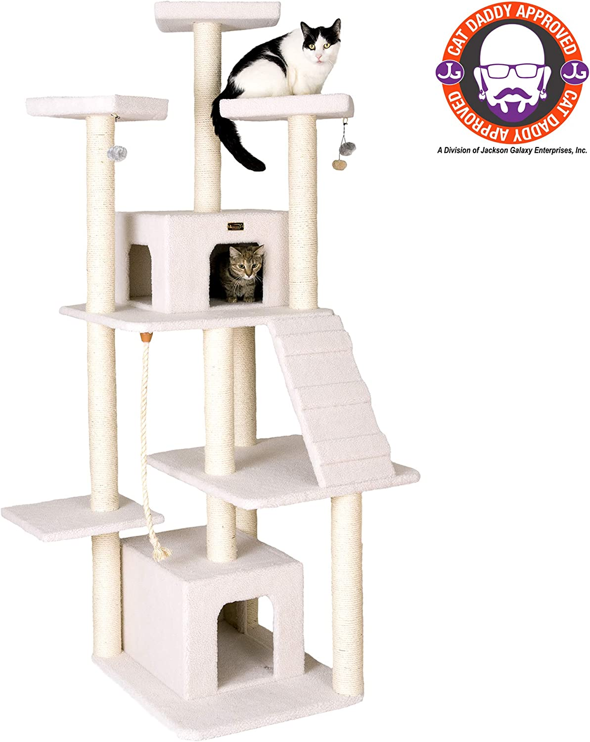 Armarkat B8201 82 Classic Cat Tree Model Ivory Pet Supplies