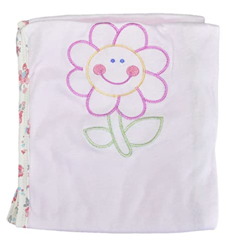 Buy Super Soft Baby Wrap Towel Pinkish 86 Cm X 62cm Imported