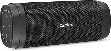 Amazon.com: Zamkol ZK306 Bluetooth Speaker, Portable Wireless Speaker with 30W Stereo Sound, Rich Bass, IPX6 Waterproof, 5200mAh, Bluetooth 5.0 Speaker for Outdoor Party, Beach, Shower, Travl: Home Audio & Theater