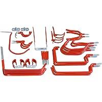 Connex CONNEX DY250829 zestaw haków ściennych 32-częściowy, wraz z pasującym materiałem mocującym