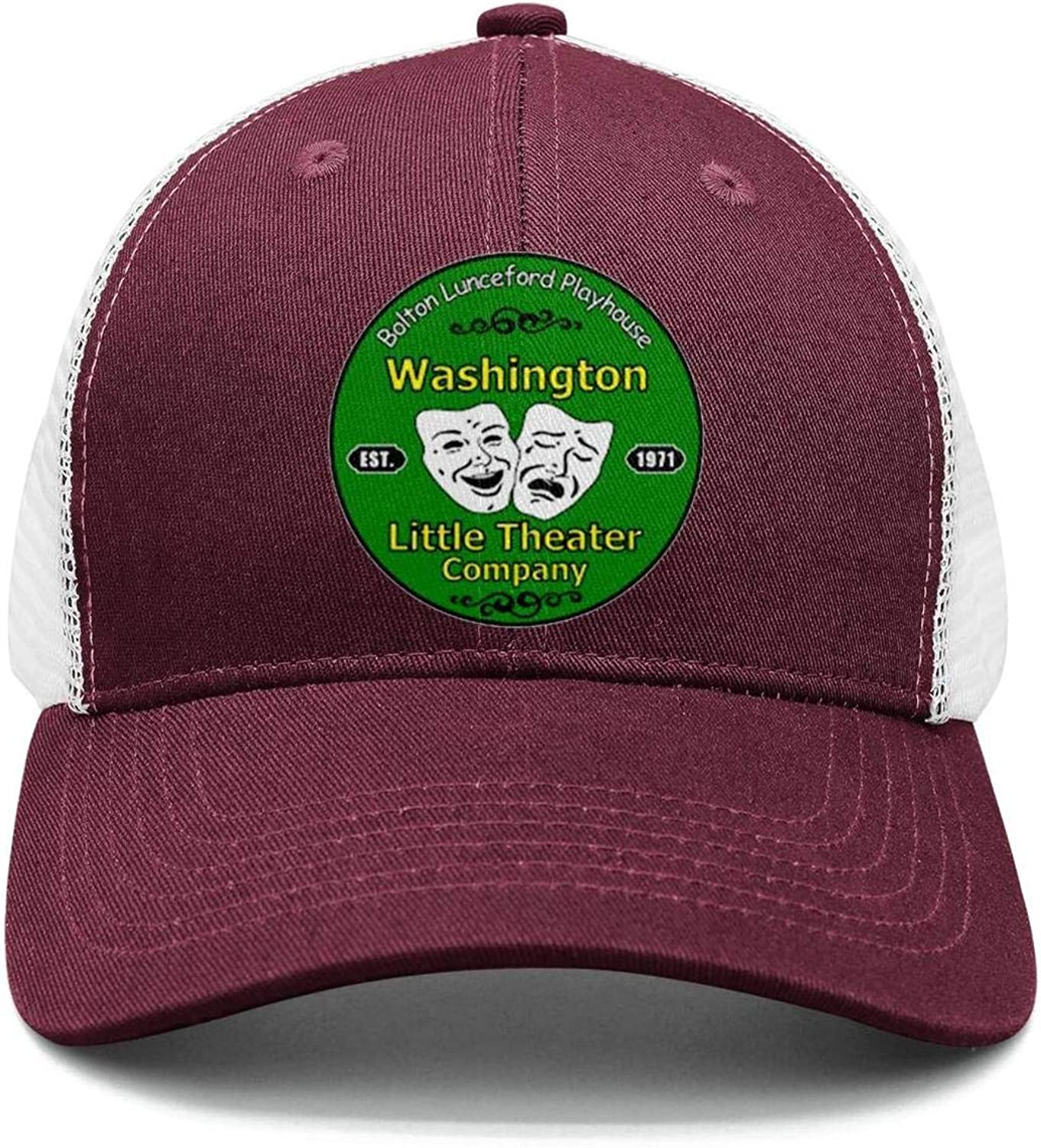 Cotton Casual Trucker hat Adjustable Fits Mesh Baseball Caps for Man and Woman smsdpmc Washington-Funny-Evergreen-State