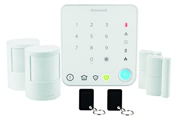 Honeywell Home HS330S Kit Alarma inalámbrica, Blanco: Amazon ...