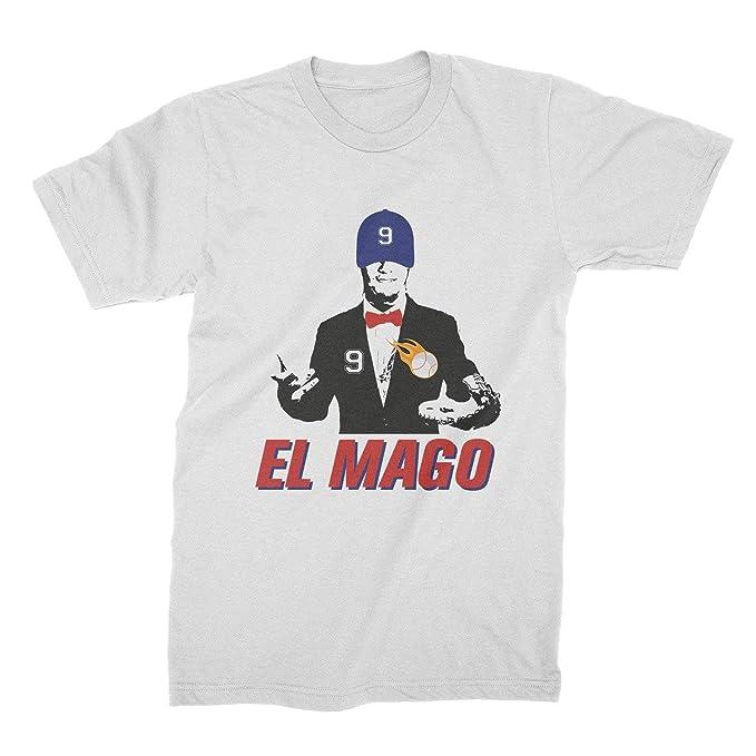 size 40 012d0 b88a5 Amazon.com: El Mago Shirt Javier Javy Baez Shirt Cubs: Clothing