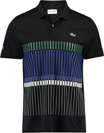 Lacoste Polo Novak Djokovic Negro 2 Negro: Amazon.es: Ropa y ...