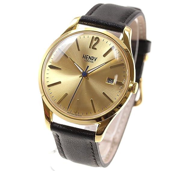 [Henry Londres] Henry Londres Reloj de hombre de la mujer Westminster hl39-s-0006 [Regular importados]: Amazon.es: Relojes