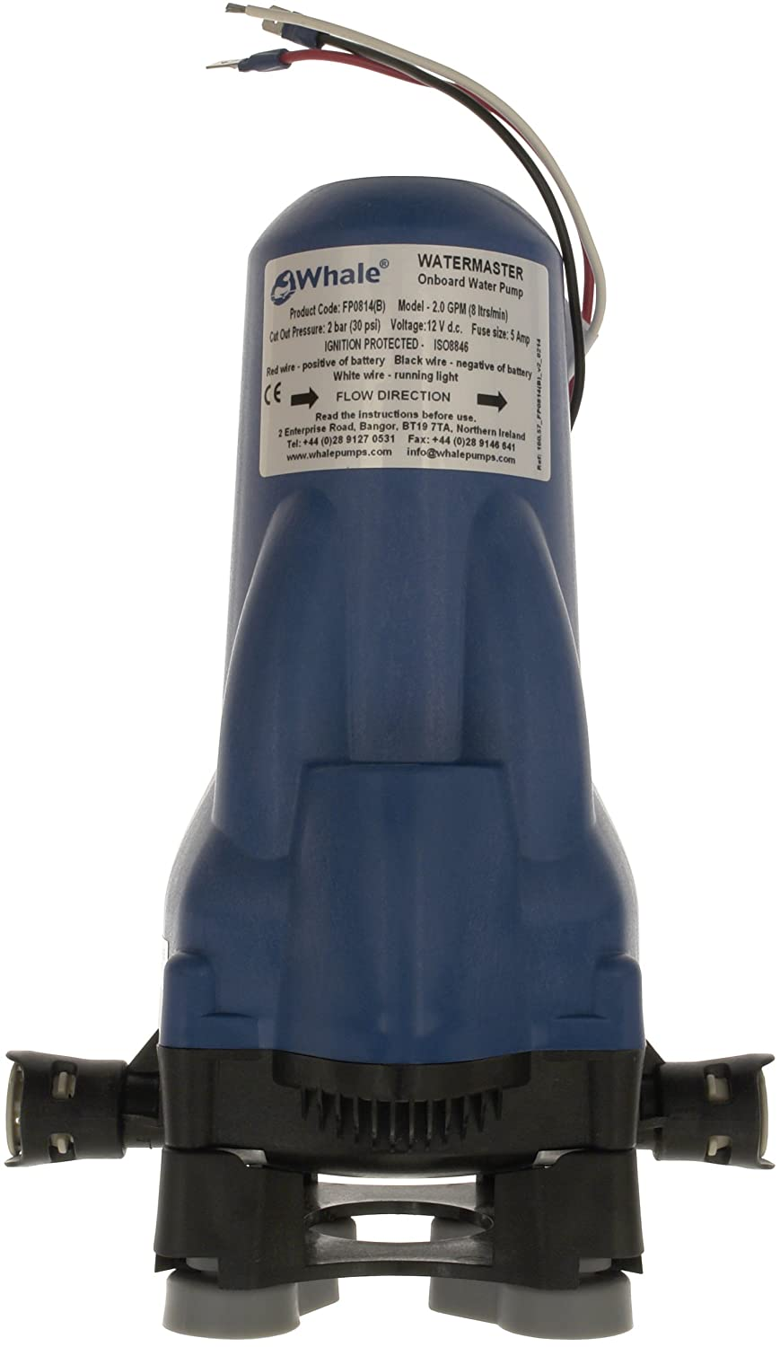 Whale Water Master 12V Water Pump - Blue FP0814B