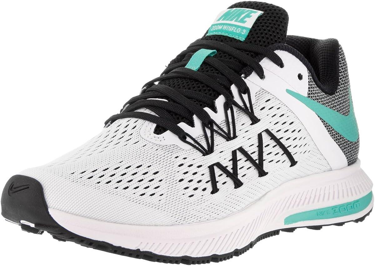 Nike Wmns Zoom Winflo 3, Zapatillas de Running para Niñas, Blanco (Blanco (White/Hyper turq-Black), 35 1/2 EU: Amazon.es: Zapatos y complementos