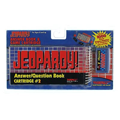 Jeopardy Answer/Question book Cartridge #2 by Tiger Electronics: Toys & Games