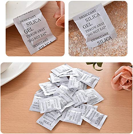 FREE SHIPPING 100 pcs 4g Silica Gel Desiccant Packets