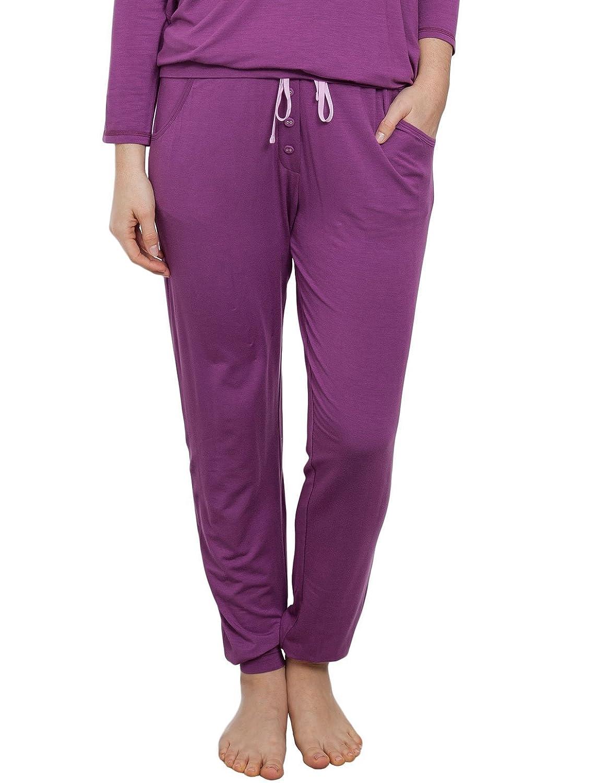 Cyberjammies 3836 Women's Fiona Magenta Purple Pajama Pyjama Pant