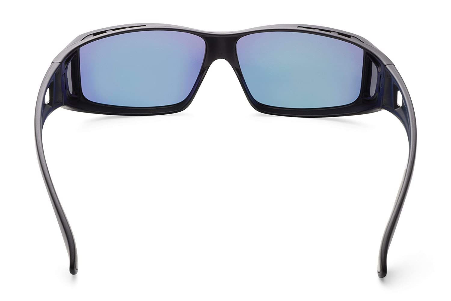 b5ce674e09 Amazon.com  Mr.O Fitover Polarized Sunglasses with Luxury Microfiber Pouch  - Made in Taiwan  Clothing