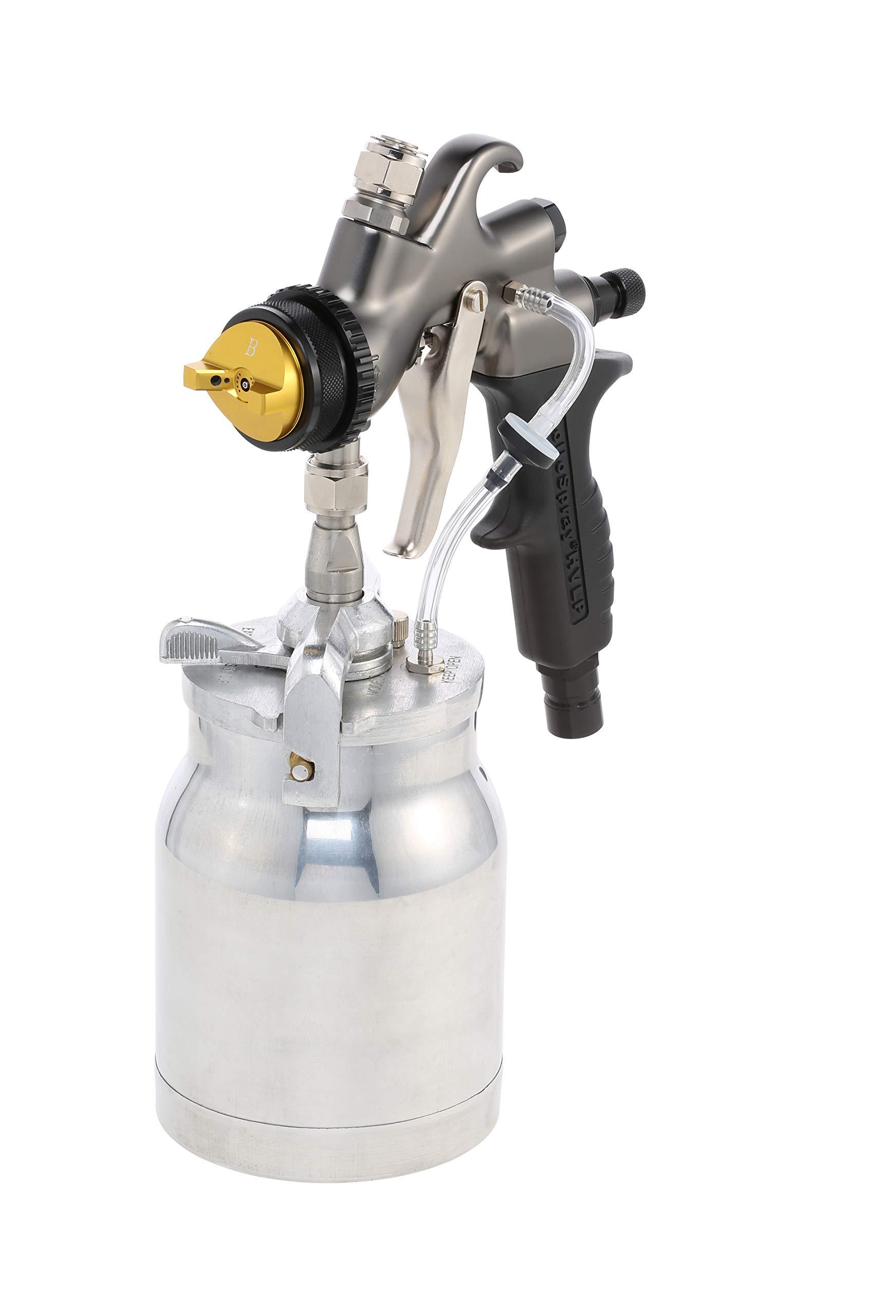Apollo A7700 Atomizer Turbine Spray Gun with 1Qt. Pressure Feed Cup