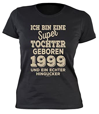 Damen T Shirt Zum 20 Geburtstag Damen T Shirt Super Tochter Geboren