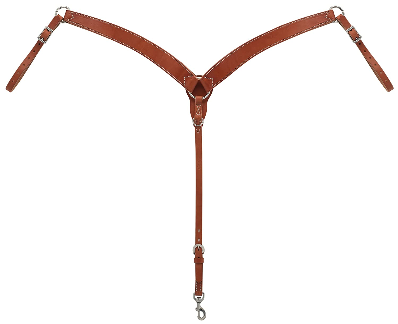 Weaver Leather 胸の輪郭に沿った襟 キャニオンローズ   B07DVX15H4