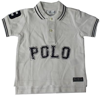 Polo Ralph Lauren - Camiseta - para bebé niño Gris Gris 12 Meses ...