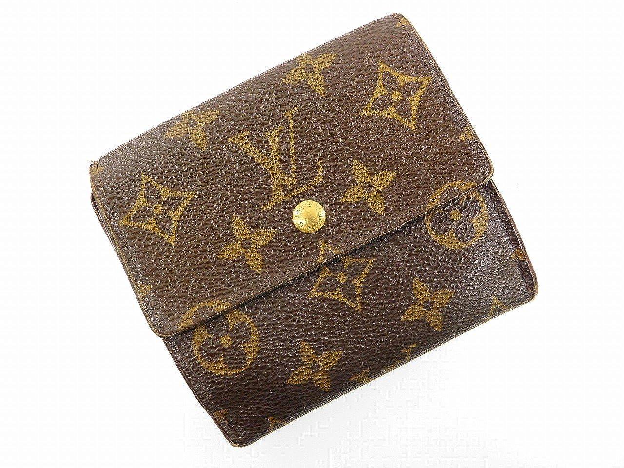[ルイヴィトン] LOUIS VUITTON 二つ折り財布 モノグラム M61652 PVC×レザー X16503 中古   B0789FFN85