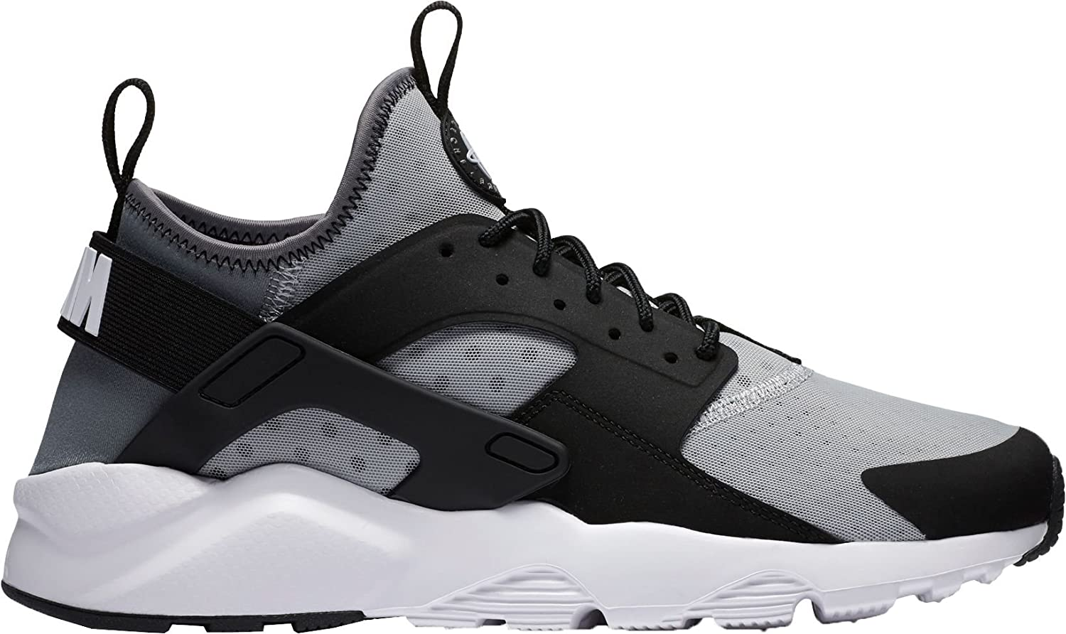 ナイキ シューズ スニーカー Nike Men's Air Huarache Run Ultra Shoes GreyWhite [並行輸入品] B074CM4ZTV