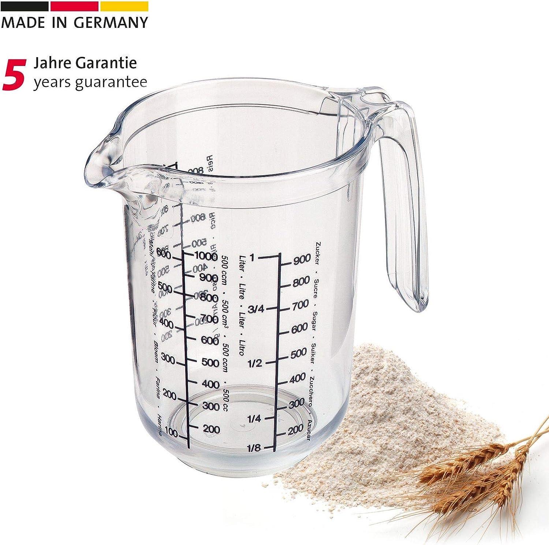 Westmark 30682270 Gerda - Recipiente de Cocina para medir cantidades (1 l)