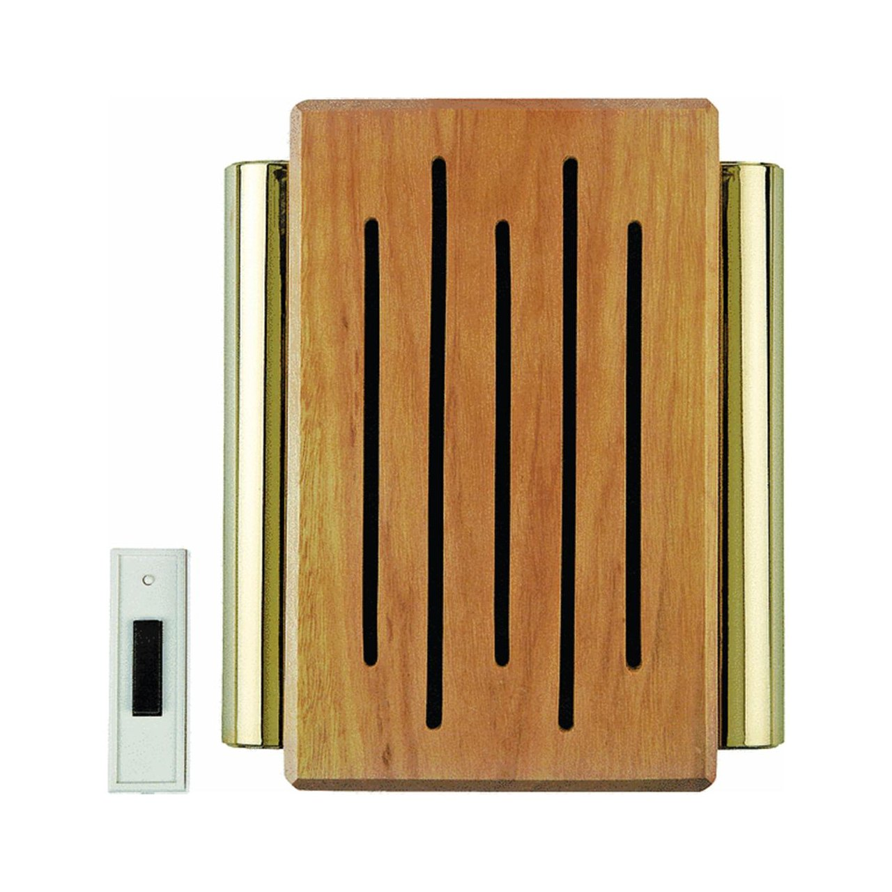 Carlon Lamson & Sessons Rc3306f Wood And Brass Wireless Door Chime  Wireless  Doorbell  Amazon