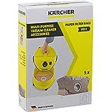 Karcher MV2 WD2 - Bolsas resistentes para aspiradora (5 unidades)