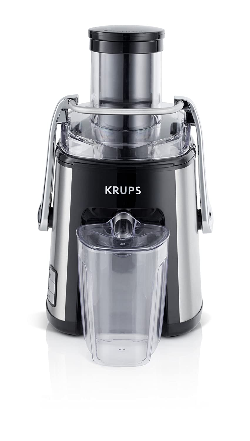 KRUPS ZY501D50 Stainless Steel Juice Extractor with Variable Speed Settings, Black Groupe SEB 1500831800