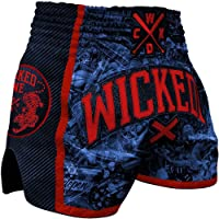 Wicked One Muay Thai Pantalones Cortos, pantalones