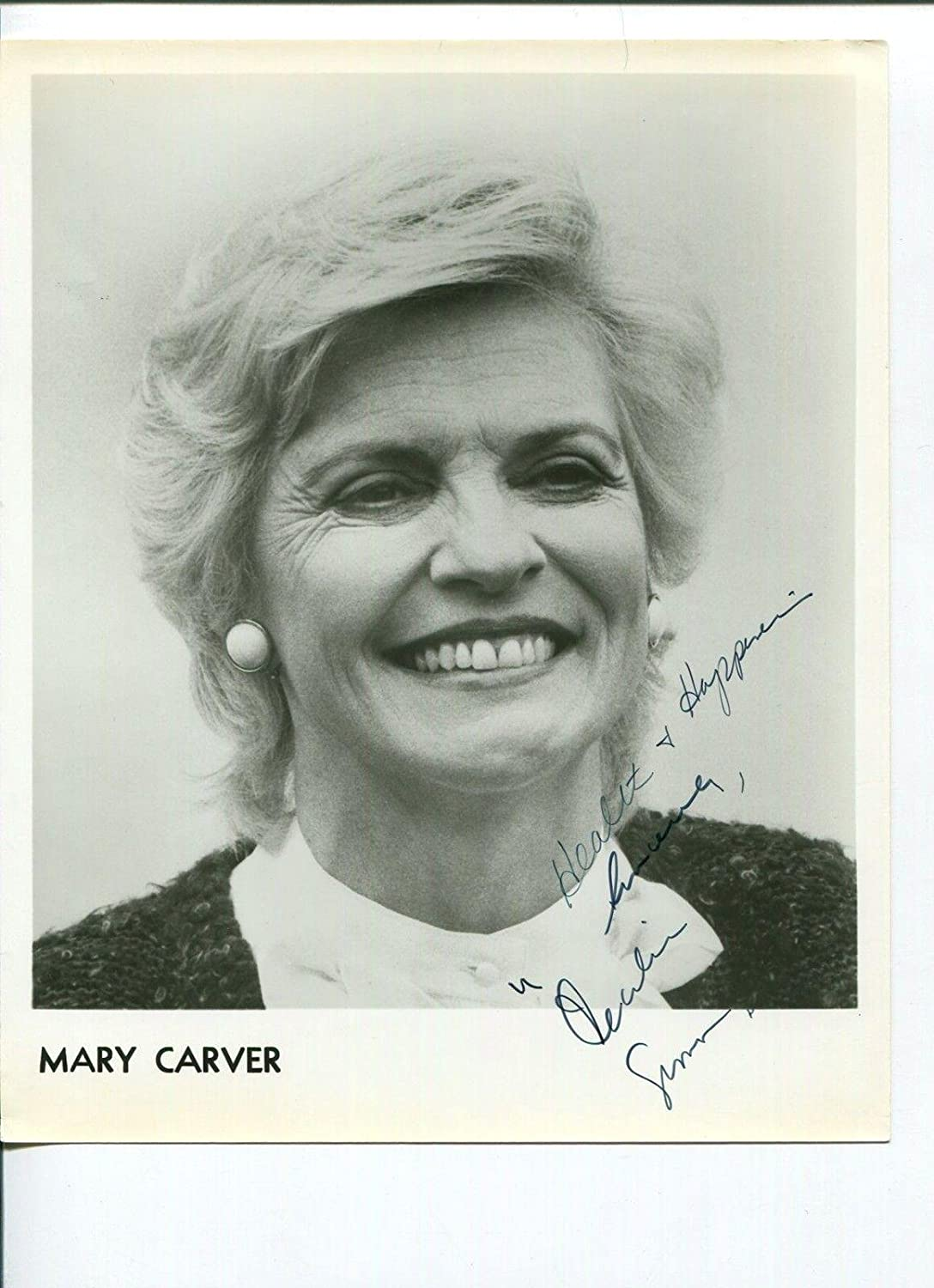 Watch Mary Carver video