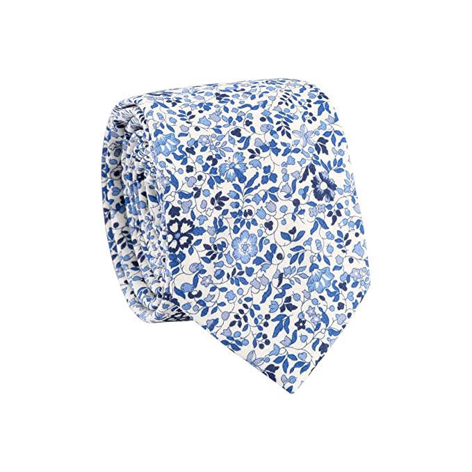 TIE RACK - Corbata de flores Liberty Katie & Millie, 100% algodón ...