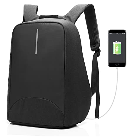Coolbell Mochila antirrobo para portátil Puerta de carga USB/mochila para Estudiantes ligero y funcional
