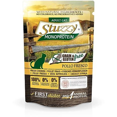 Stuzzy Grain Free Monoprotein Pollo Comida humeda para gatos