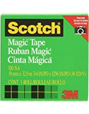 Scotch Magic Tape 19mm X 33m Scotch Magic Tape Boxed(Packaging May Vary)