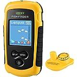 Amazon Com Vectorcom Wired Fish Finder Portable Fishfinder Fishing