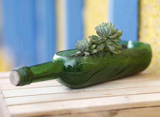 Kavi Maceta de Botellas reciclada, contenedor de Plantas, macetas ...