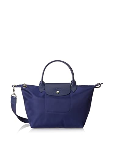 Longchamp Small Handbag Le Pliage Neo 1512 578 556 - Blue (New Navy)   Amazon.co.uk  Clothing 44bdb0b4ba52a