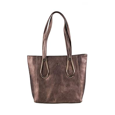 1d56d63a29 Metro Women Bronze Synthetic Tote Bag (66-5258-46-10-Bronze) Size ...