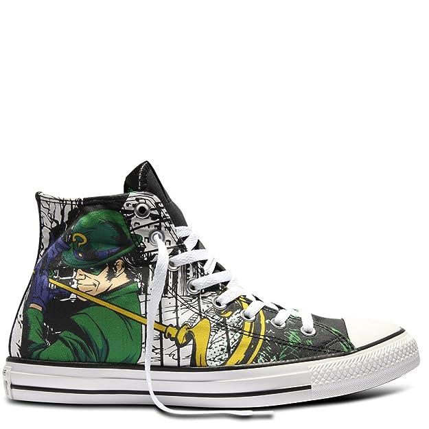 8f4c794a5af5 Converse Unisex All Star Hi Riddler Sneaker CT HI Shoes DC Comics 148914C  (4 D(M) US)  Amazon.co.uk  Shoes   Bags