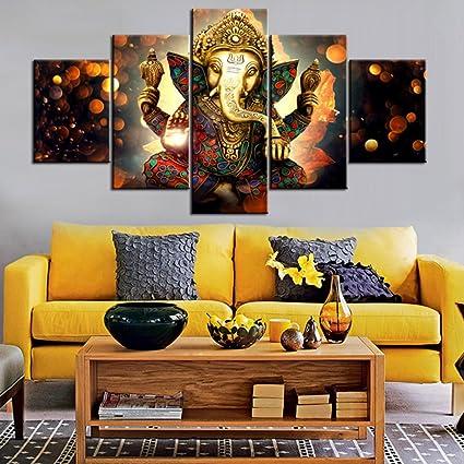 paintings for living room Amazon.com: Wall Art for Living Room Deity Festival Artwork  paintings for living room