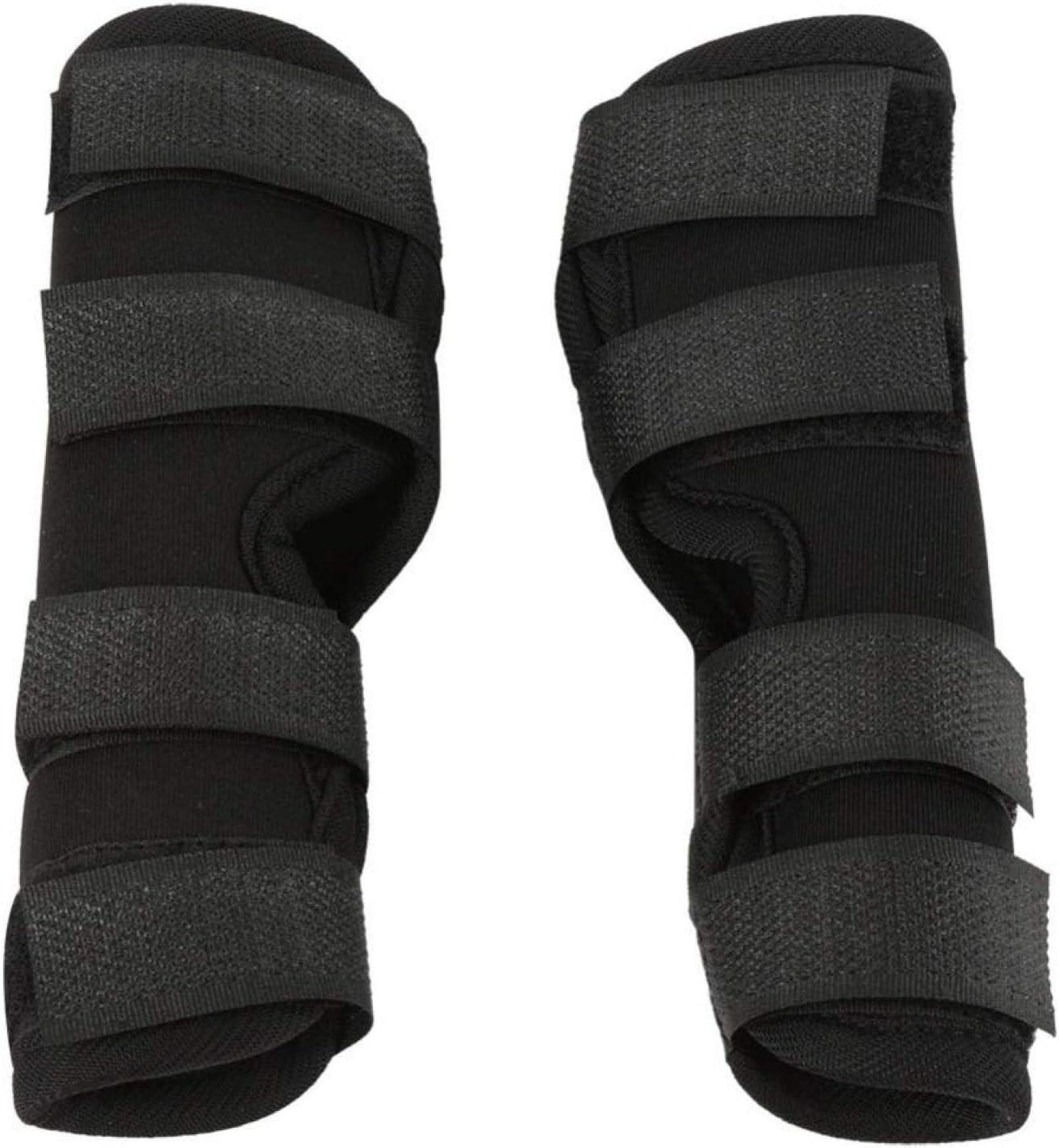 BTER Soporte para piernas traseras a Prueba de Golpes, Soporte para piernas de Perro, Envoltura para Lesiones por Lesiones quirúrgicas, Herramienta de(Black, L Code)
