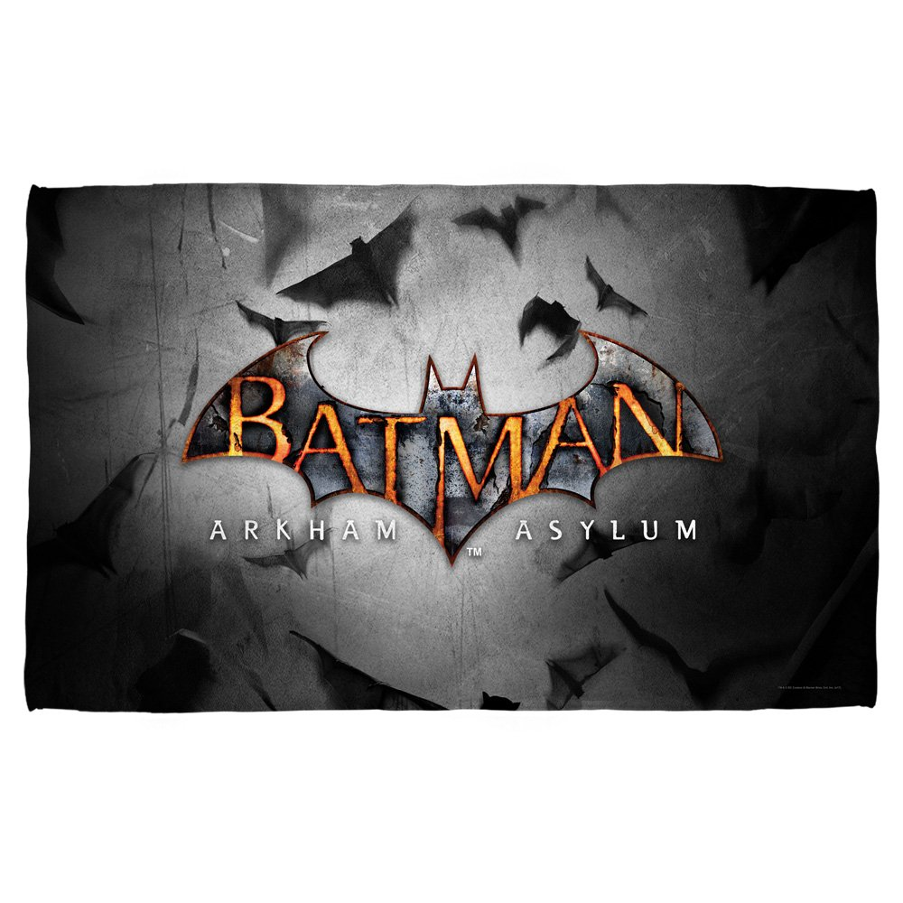 Game Logo -- Batman Arkham Asylum -- Golf Towel (16'' x 24'')