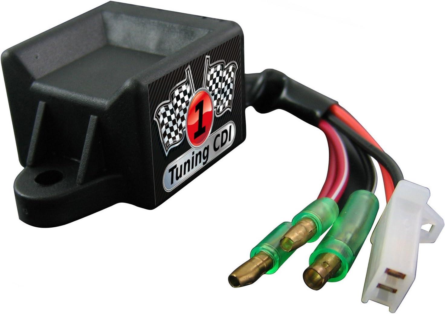 603/50/ccm//motomojo Roadster 50/2T//Aeon Cobra 50, ouverte Sport Tuning CDI Dinli DL 601