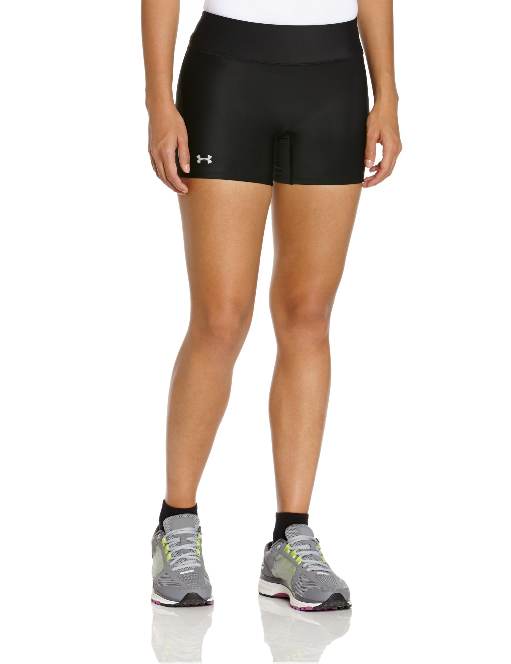 Under Armour Women's Heat Gear Authentic Middy Shorts