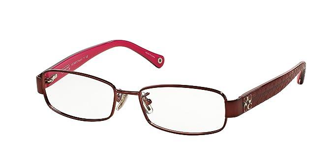 021673351fda5 Amazon.com  Coach Women s HC5001 Eyeglasses Burgundy 52mm  Coach  Shoes