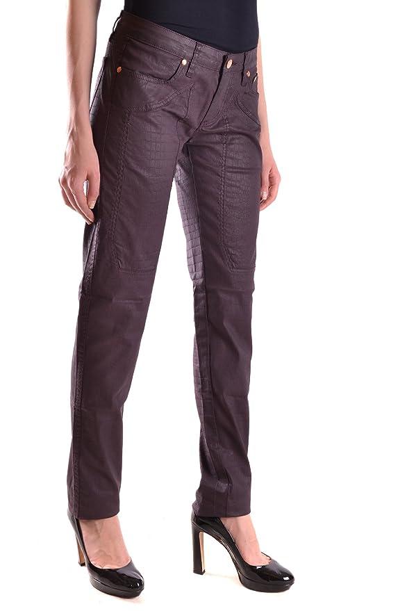 Jeckerson Damen Mcbi162005o Violett Baumwolle Jeans: Amazon.de: Bekleidung