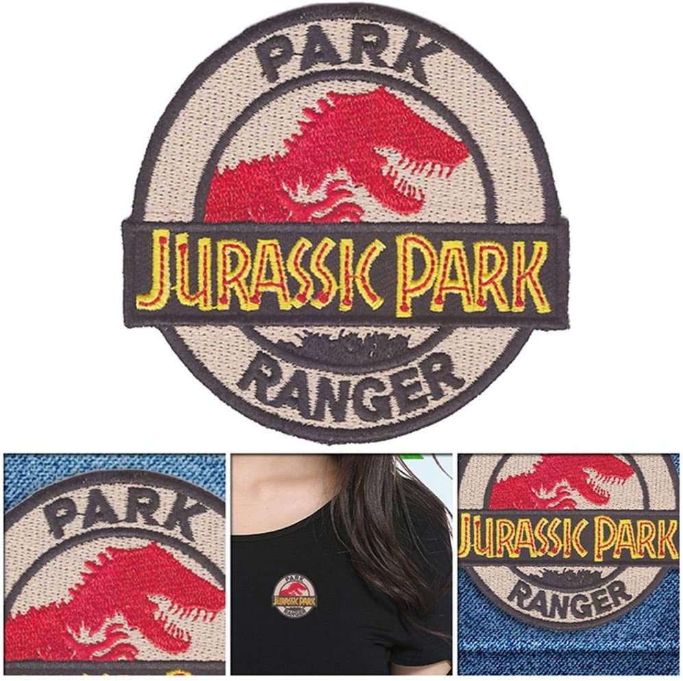 Toppa termoadesiva per Travestimenti Jurassic Park Ranger vaMtWYiD Motivo