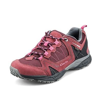 4eb5950e232 Clorts Women's Nubuck Waterproof Hiking Shoe Outdoor Backpacking ...