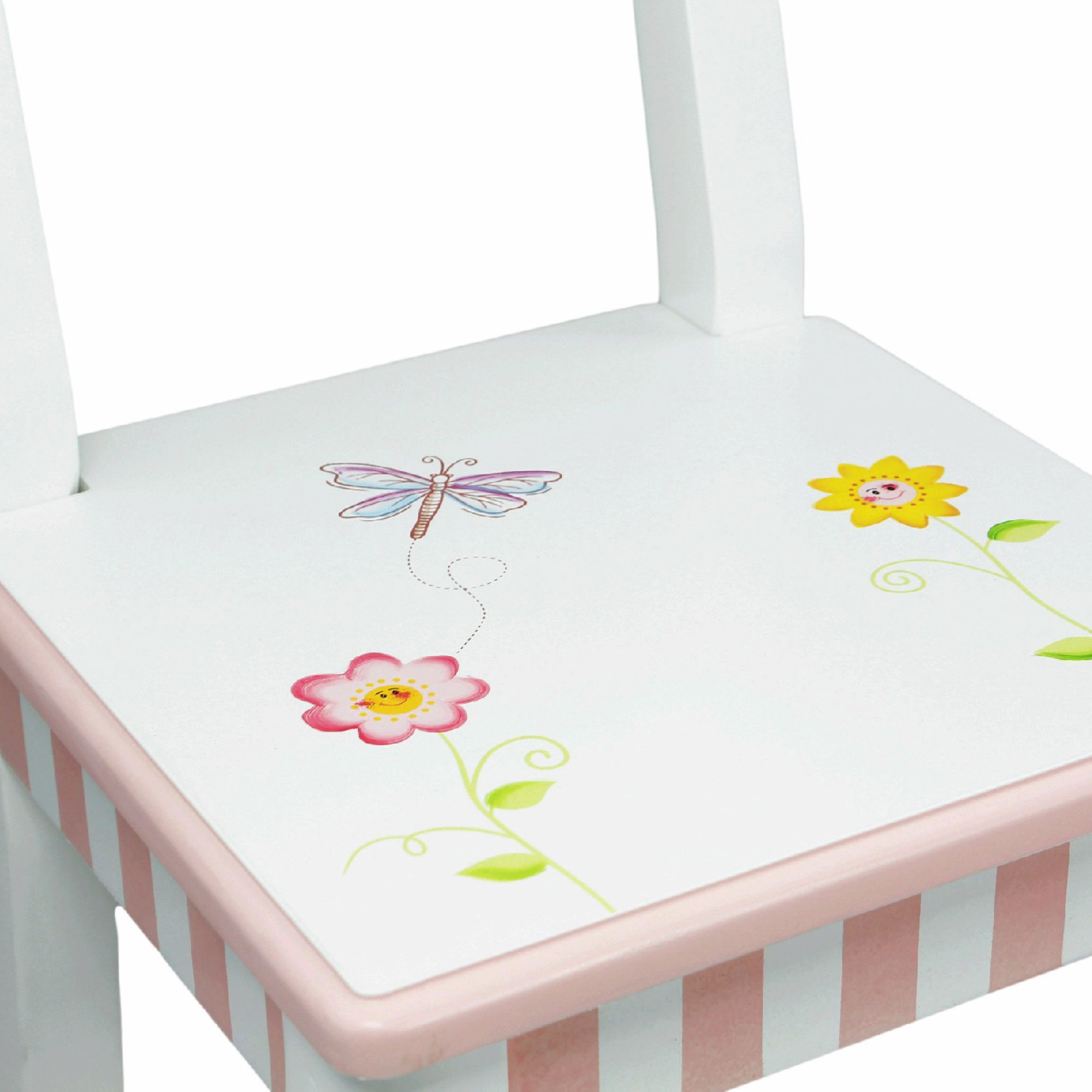 Fantasy Fields - Princess & Frog Thematic Hand Crafted Kids Wooden Table and 2 Chairs Set  Imagination Inspiring Hand Crafted & Hand Painted Details   Non-Toxic, Lead Free Water-based Paint by Fantasy Fields (Image #9)